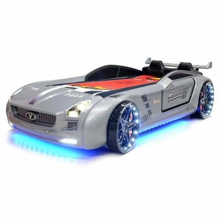 lit voiture enfant - lits pour enfant en forme de voiture de course ...