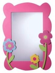 La nouvelle collection d coration de chambre de fille le for Petit miroir rond a coller