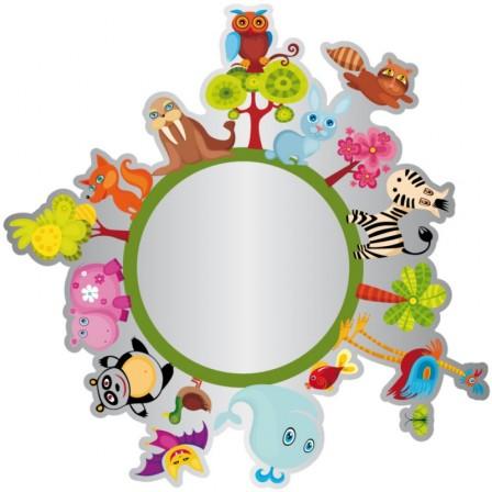Miroir Porte Manteau Pour Dcorer Une Chambre De Fille  Dcorer