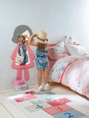 Miroir porte manteau, miroirs et coiffeuse pour chambre de fille ...