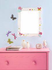 Miroir porte manteau pour décorer une chambre de fille - Un ...