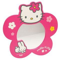 Miroir porte manteau pour d corer une chambre de fille - Decoration hello kitty pour chambre bebe ...