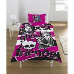 De maison linge de lit parure de lit monster high housse de couette bed mat - Couette monster high ...