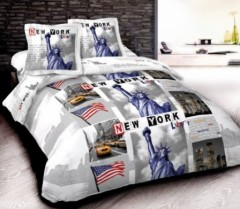 linge de lit pour adolescent ou junior la housse de couette smiley pour se reveiller de bonne. Black Bedroom Furniture Sets. Home Design Ideas