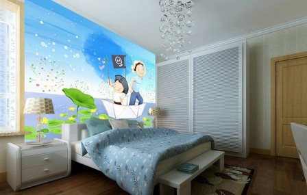 Mot cl gar on d corer page 2 - Decoration murale chambre enfant ...
