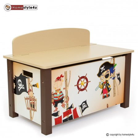 d corer la chambre d 39 un gar on sur le th me des pirates. Black Bedroom Furniture Sets. Home Design Ideas