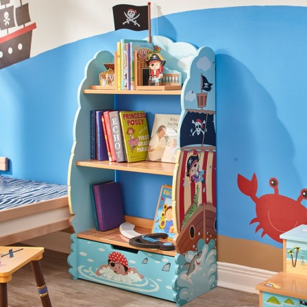 d coration chambre d 39 enfant le rangement de pirate d corer. Black Bedroom Furniture Sets. Home Design Ideas
