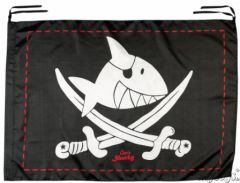 drapeau deco de pirate à accrocher pour decorer