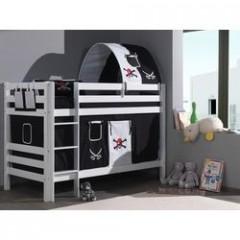 habillage lit cabane finest lit mezzanine enfant cometa loft c asoral with habillage lit cabane. Black Bedroom Furniture Sets. Home Design Ideas