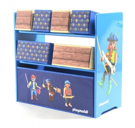 Rangement pirate bo te meuble rangement coffre pirate - Meuble de rangement jouets chambre ...