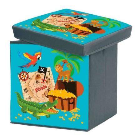 Rangement_pirate_chambre_enfant_cube_souple_pas_cher_pirate
