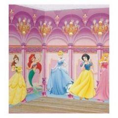 D cor murale de princesse disney pour chambre de fille for Deco chambre princesse