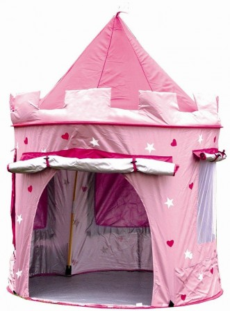Ch teau tente de princesse installer dans une chambre de fille accessoires et decoration - Chambre fille pas chere ...