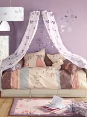 ciel de lit rose pour d corer une chambre de fille en. Black Bedroom Furniture Sets. Home Design Ideas