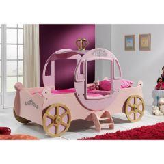 Chambre De Princesse Pour Petite Fille. Ciel De Lit Blanc Pour ...
