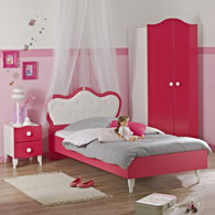 meuble table moderne lit bebe fille princesse. Black Bedroom Furniture Sets. Home Design Ideas