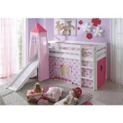 lit chateau pour fille diy des tagres pour enfants canons moma le blog diy shelves for with lit. Black Bedroom Furniture Sets. Home Design Ideas