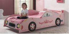 lit voiture rose pour chambre de fille lit original pour fille