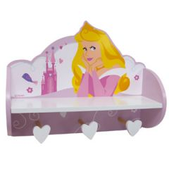 Porte manteau accorche murale princesses disney for Etagere murale pour chambre fille