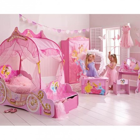 princesses disney d coration rangement d co murale d corer une chambre de princesse. Black Bedroom Furniture Sets. Home Design Ideas