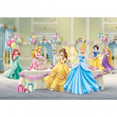 d cor murale de princesse disney pour chambre de fille d corer les murs avec les princesses. Black Bedroom Furniture Sets. Home Design Ideas