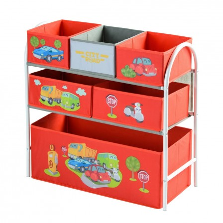 rangement et gain de place dans la chambre d 39 un enfant etag re de rangement avec bac et espace. Black Bedroom Furniture Sets. Home Design Ideas
