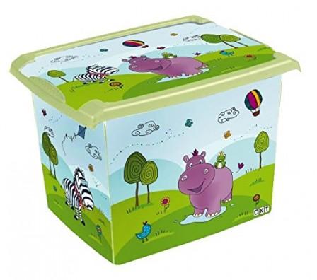 Rangement jeux et jouets chambre enfant coffre jouets - Bac de rangement plastique avec couvercle pas cher ...