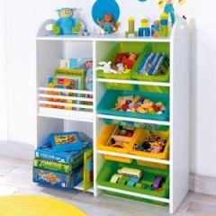 Idée de rangement pour la chambre d\'un enfant : Le coup de ...