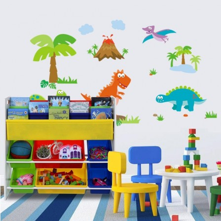 Rangement jeux et jouets chambre enfant coffre jouets bac bo te etag re meuble malle - Meuble de rangement salle de jeux ...