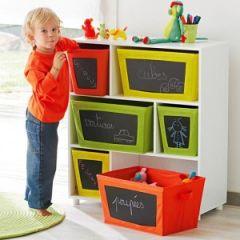 Id e de rangement pour la chambre d 39 un enfant le coup de - Meuble pour ranger les jouets ...