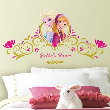 Dessin mural chambre fille interesting sticker rigolo - Dessin mural chambre fille ...