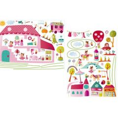 D cor chambre b b et enfant decoration murale et stickers originaux pour chambre d 39 enfant - Decoratie murale bebe ...