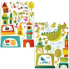 Idees Deco Et Stickers Chambre D Enfant Decorer Les Murs D Une
