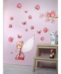 Mot cl deco mur d corer - Decoration murale chambre bebe fille ...