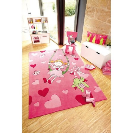 Mot cl tapis rectangulaire fille d corer - Grand tapis chambre fille ...