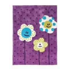 tapis chambre de fille tapis chambre d39enfant et bebe With tapis chambre bébé avec livre des fleurs pas cher