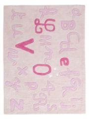 tapis rectangulaire rose pour chambre de petite fille - Tapis De Chambre Fille