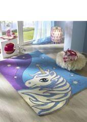 Tapis chambre de fille tapis chambre d 39 enfant et b b for Decoration licorne chambre