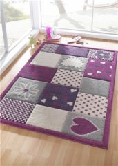 Tapis chambre d 39 enfant tapis chambre b b tapis pour la for Chambre violet et rose