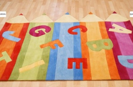 tapis pour chambre de b b et chambre d 39 enfant tapis pas. Black Bedroom Furniture Sets. Home Design Ideas