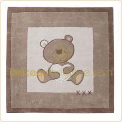 Tapis chambre b b tapis chambre d 39 enfant des tapis color s pour prot ger le sol de la - Decoration ourson pour bebe ...
