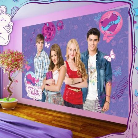 Violetta housse de couette parure de couette linge de lit draps et accessoires deco plaid for Chambre fillette 12 ans