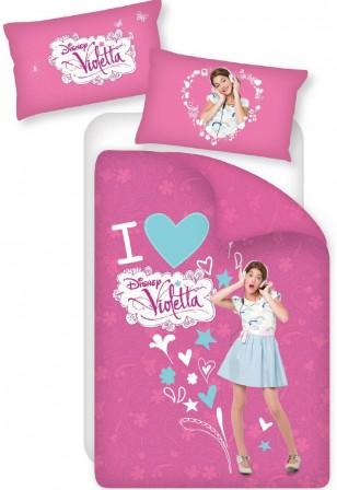 Violetta housse de couette parure de couette linge de lit draps et acces - Lit pour fille de 6 ans ...