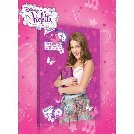 Violetta housse de couette parure de couette linge de - Jeux de fille de violetta ...