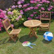 Meuble table moderne table et chaise de jardin enfant for Meuble de jardin auchan