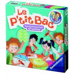 jeux et jouets pour enfants 8 ans 12 ans le p 39 tit bac des incollables jeu de soci t. Black Bedroom Furniture Sets. Home Design Ideas