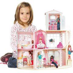 ide de cadeau pour les filles de 3 8 ans pour noel la maison de rve barbie