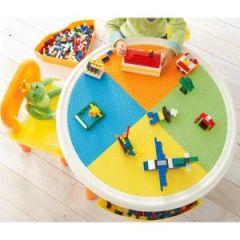 Idéal pour jouer avec des lego ou des duplo : la table ronde de ...