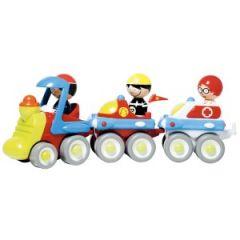 cadeau jouet garçon 2 ans, 3 ans, train qui se détache 3 véhicules avec sujets personnages faire rouler train.jpg