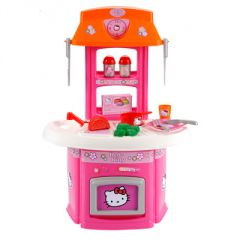 Cuisine en bois jouet pas cher cuisine enfant jouet enfant cuisine pour imiter les grands - Cuisine smoby hello kitty ...